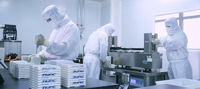 北方所創立于1985年,隸屬于中國核工業集團有限公司旗下的中國同輻股份有限公司(中國同輻,1763.HK),專注于體外診斷試劑產品的研發、生產、經營及服務,產品涵蓋放射免疫、化學發光、酶聯免疫、時間分辨、膠體金和生物原材料等技術平臺,擁有150多項產品注冊證書,形成了覆蓋全國的營銷網絡,產品出口至亞非歐等10余個國家或地區,能夠為體外診斷領域提供全面的產品解決方案和整體服務